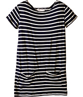 fiveloaves twofish - Jersey Stripe Shift Dress (Little Kids/Big Kids)