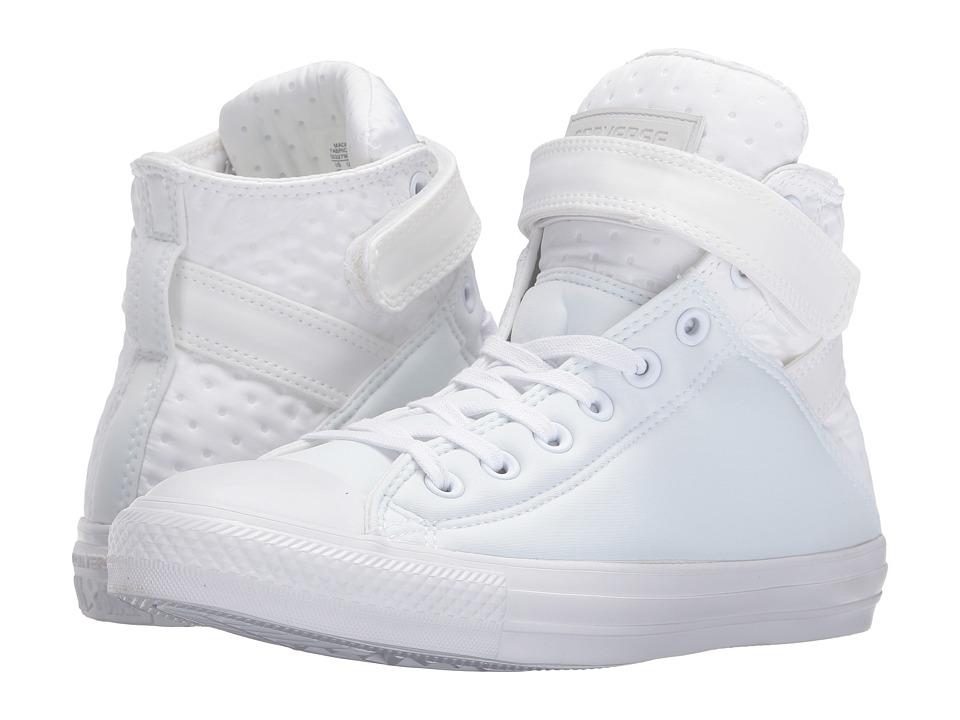 Converse - Chuck Taylor All Star Brea Neoprene Hi (White/White/White) Women
