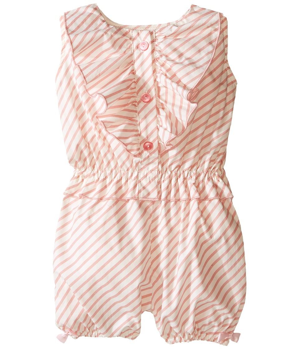 fiveloaves twofish Candy Romper Infant Light Pink Girls Jumpsuit Rompers One Piece