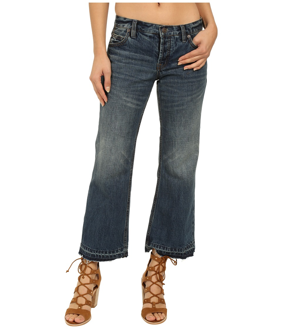 Free People Chelsea Cropped Kick Flare Denim Jacob Womens Jeans