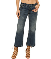 Free People - Chelsea Cropped Kick Flare Denim