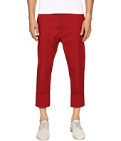 Vivienne Westwood - James Bond Stretch Cotton Cropped Trousers