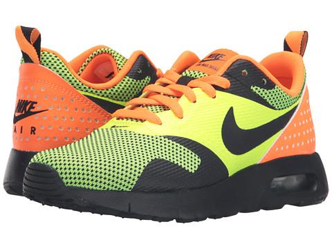 Nike Kids Air Max Tavas GS (Big Kid) - Volt/Total Orange/Black