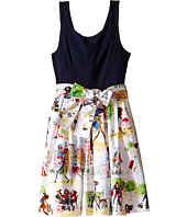 fiveloaves twofish - Bouquet Wrap Dress (Little Kids/Big Kids)