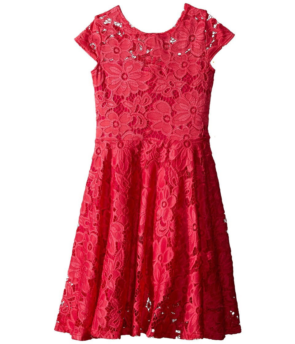 fiveloaves twofish Aurora Dress Little Kids/Big Kids Hot Pink Girls Dress