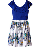 fiveloaves twofish - Flora City Dress (Little Kids/Big Kids)