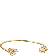 Alexis Bittar - Caged Cuff w/ Rough Cut Crystal Nuggets Bracelet