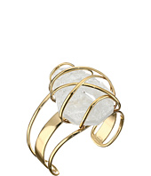 Alexis Bittar - Large Caged Cuff w/ Rough Cut Crystal Nugget Bracelet