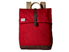 TOMS Utility Canvas Backpack (Dark Red)