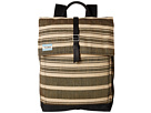 TOMS Two-Tone Stripe Backpack (Black)