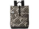 TOMS Tiki Canvas Backpack (Black)