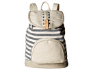 TOMS Riviera Stripe Mix Backpack (Dark Blue)