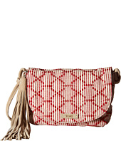TOMS - Multi Cross Stitch Tassel Crossbody