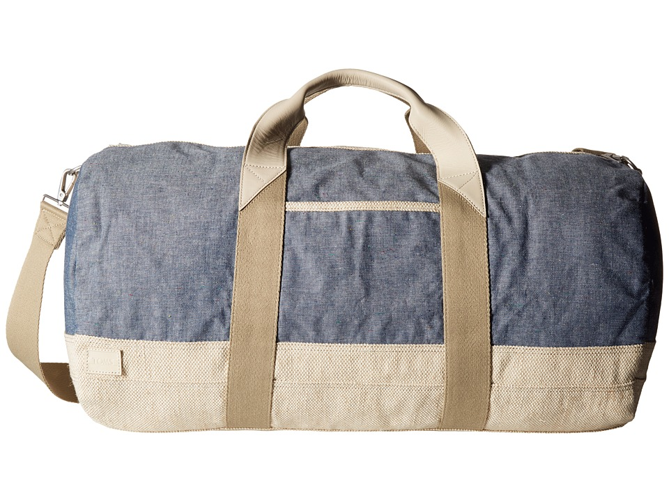 TOMS - Color Fleck Duffel (Medium Blue) Duffel Bags