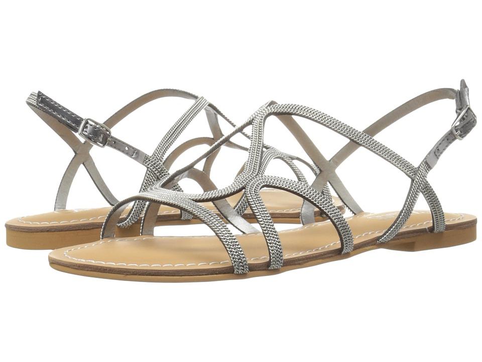 CARLOS by Carlos Santana Gage Silver Womens Sandals