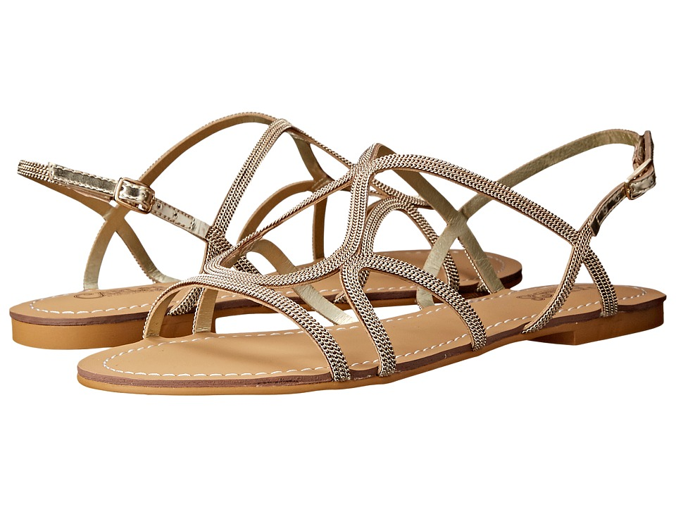 CARLOS by Carlos Santana Gage Gold Womens Sandals
