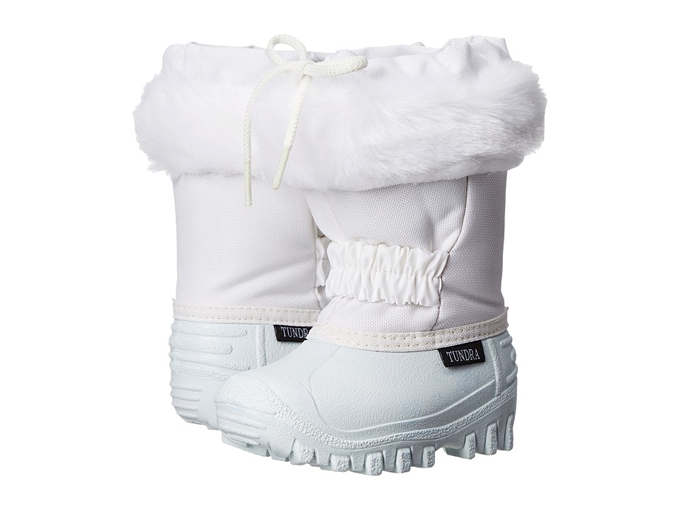 Tundra Boots Kids Glacier White/White Girls Shoes
