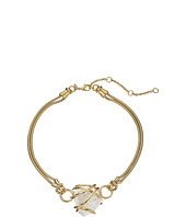 Alexis Bittar - Small Caged Bib w/ Rough Cut Crystal Nugget Necklace