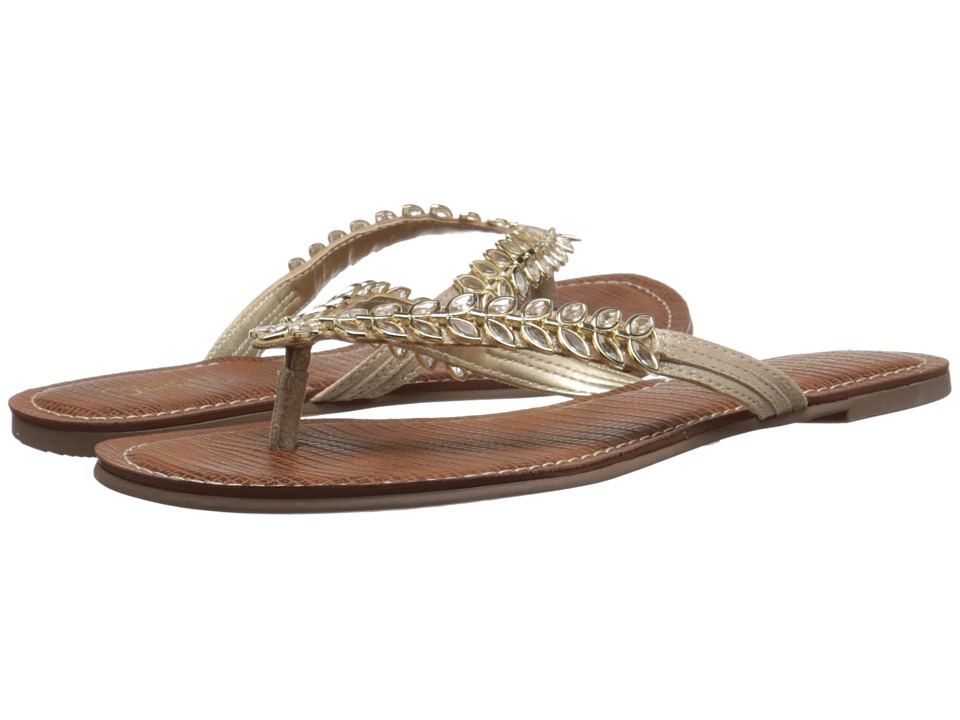 CARLOS by Carlos Santana Heron Platino Womens Slide Shoes
