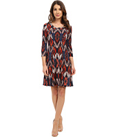Karen Kane - Pacific Ikat A-Line Dress
