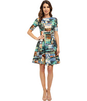 Karen Kane - Collage Print Scuba Dress