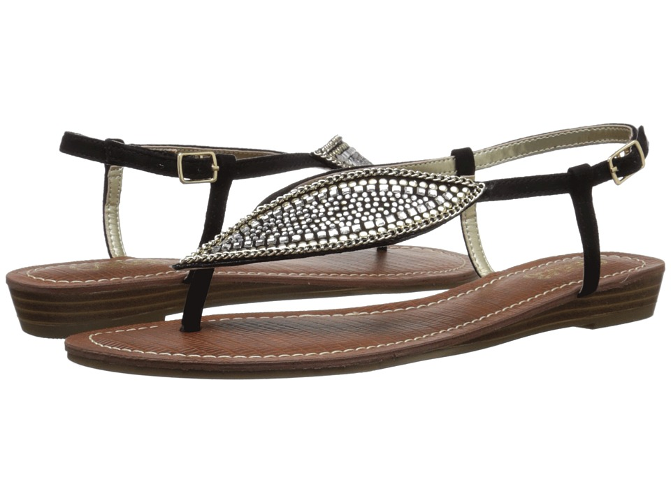 CARLOS by Carlos Santana Laverne Black Womens Sandals
