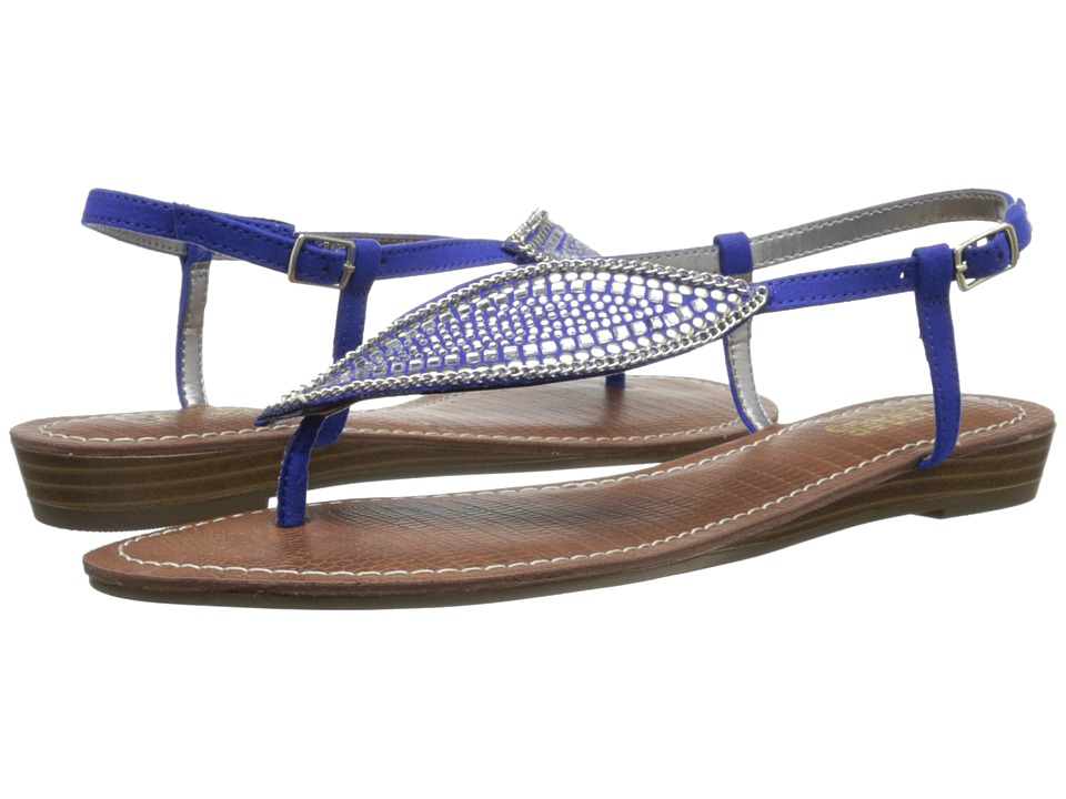 CARLOS by Carlos Santana Laverne Oceanic Blue Womens Sandals