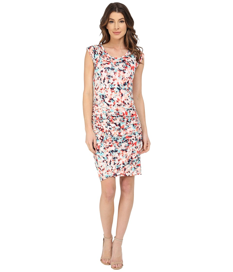 KUT from the Kloth Avy Dress Coral/Navy Womens Dress