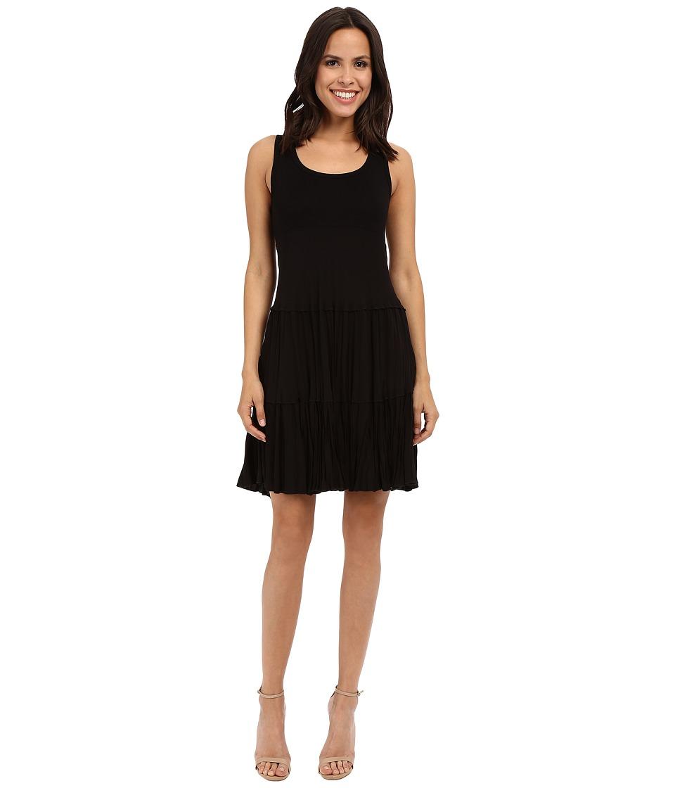 Karen Kane Allie Tiered Dress Black Womens Dress