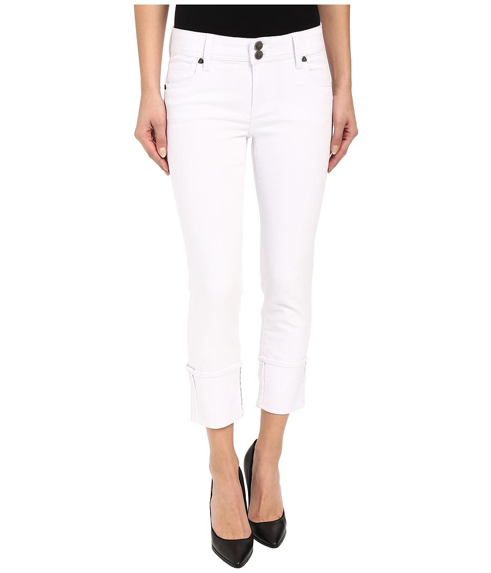 KUT from the Kloth Cameron Straight Leg Jeans in Optic White (Optic White) Women