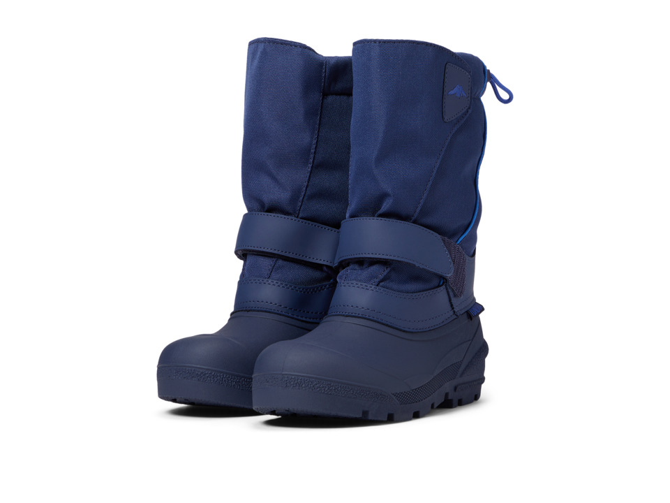 Tundra Boots Kids - Quebec (Toddler/Little Kid/Big Kid) (Navy) Boys Shoes