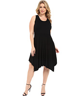 Karen Kane Plus - Plus Size Jamie Angled Hem Dress