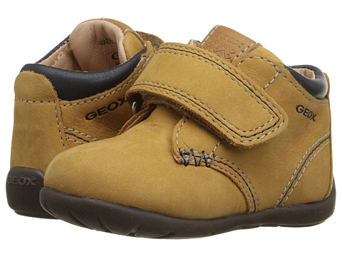Geox Kids Baby Kaytan Boy 21 (Infant/Toddler) - Biscuit