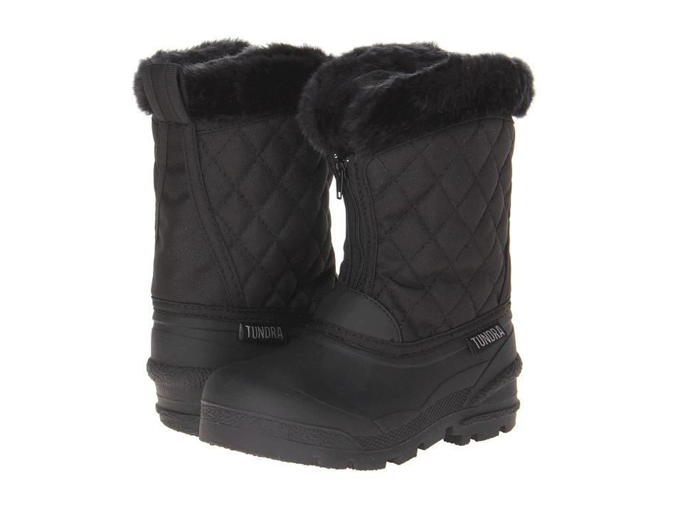 Tundra Boots Kids Snowdrift Little Kid/Big Kid Black Girls Shoes