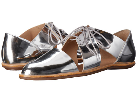 Loeffler Randall Willa - Silver Mirror Leather