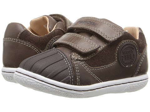Geox Kids Baby Flick Boy 49 (Toddler) - Coffee