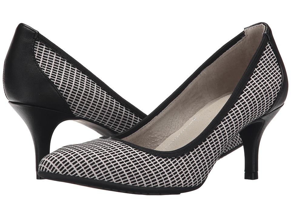 Tahari Toby Black/White High Heels