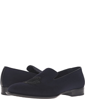 Alexander McQueen - Gable Embroidered Badge Loafer