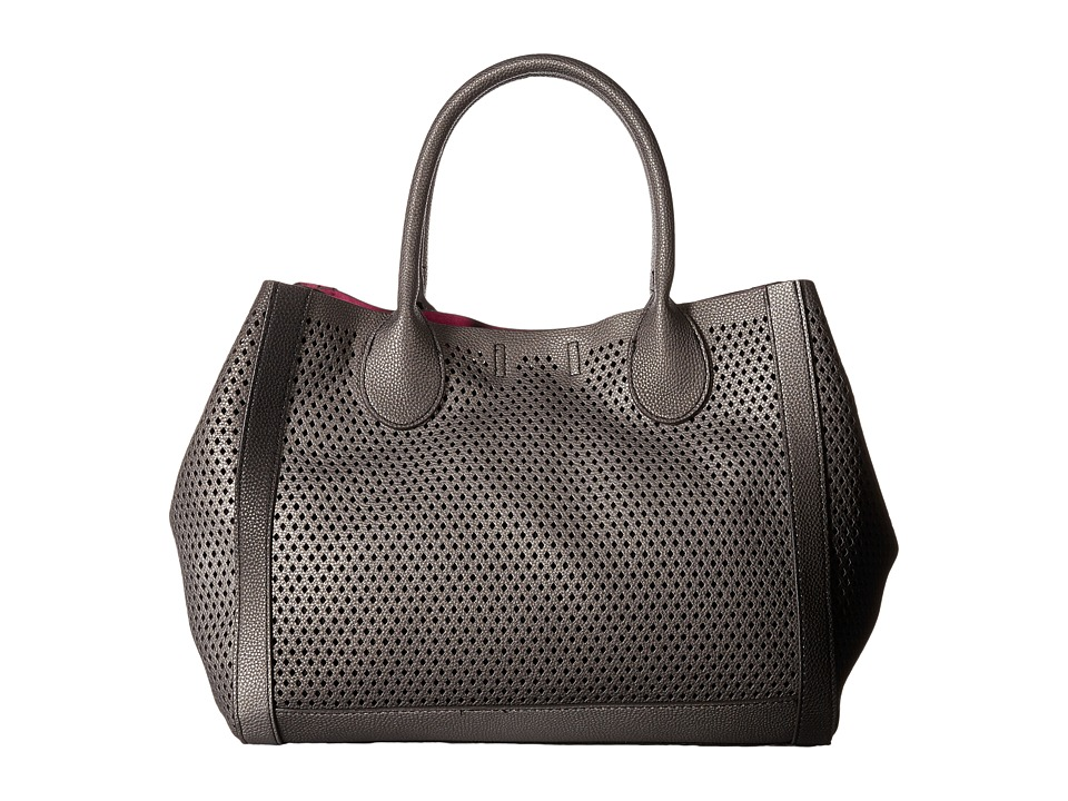 Steve Madden - Bperfie Perforated Bag in Bag (Black Multi) Tote Handbags