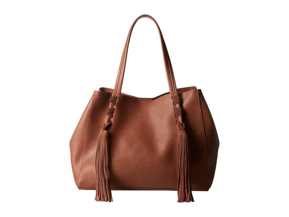 Steve Madden - Bkyra Tote (Cognac) Tote Handbags