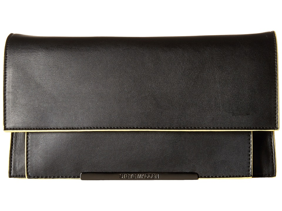 Steve Madden - Bmusthav Clutch (Black) Clutch Handbags