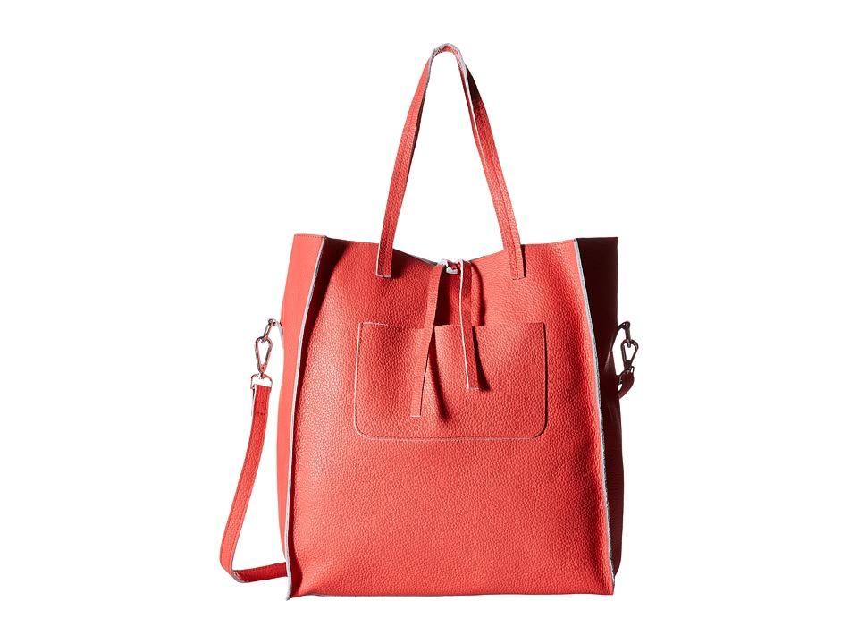 Steve Madden - Bnixxx Leather Tote (Melon) Tote Handbags