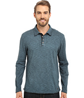 True Grit - Soft Slub Long Sleeve Vintage Polo
