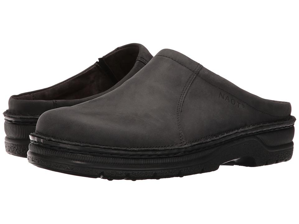 Naot Footwear Bjorn (Oily Coal Nubuck) Men