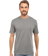 True Grit - Combed Cotton and Vintage Pigment Dyed Short Sleeve Basic Crew Neck Tee w/ Stitch Detail