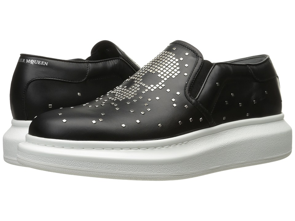 Alexander McQueen Pixelated Skull Sneaker (Black) Men
