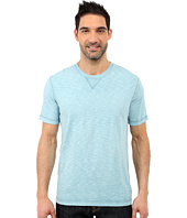 True Grit - Soft Slub Short Sleeve Classic Crew Tee w/ Contrast Coverstitch