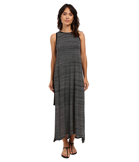 kensie Mixed Streaky Jersey Midi Dress KS6K7520