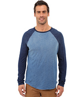 True Grit - Genuine Indigo Knit Long Sleeve Raglan Crew