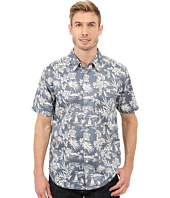 True Grit - Summertime Mai Tai Short Sleeve Shirt Combed Cotton w/ Stitch Detail